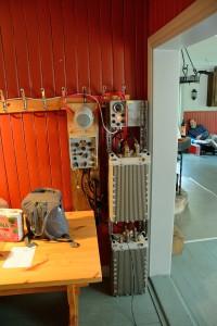 Marin 2m VHF station. En liten pjäs på drygt 70 kg
